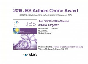 JBS Authors Choice Award